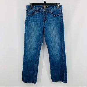 Lucky Brand Easy Rider Five Pocket Straight Jeans